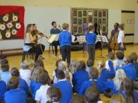 Zelkova and Abel at Milverton School 011