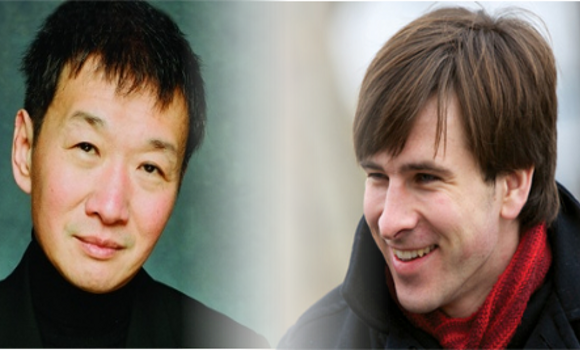 Melvyn Tan and Guy Johnston