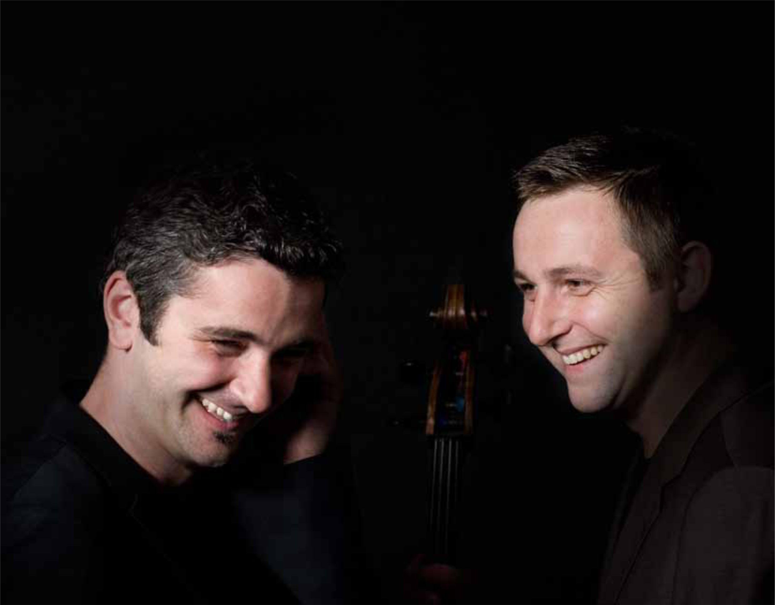 Jamie Walton and Daniel Grimwood