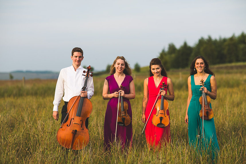 Zelkova Quartet with Abel Selaocoe* · cello